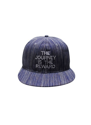 Laslusa The Journey Is The Reward Hip Hop Snapback Şapka Mavi